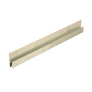 DEKOR Aluminium Plaster Gage Exterior  Surface H-profile 80 cm