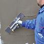 DEKOR DEKOR Pleisterspaan aluminium handvat - zachte grip 350 mm x 75 mm -  RVS