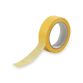 PERFECT TAPE Washi Tape-Yellow 38 mm X 50 mtr
