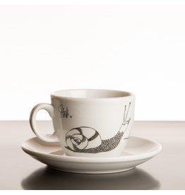 Koffie Kàn Cappuccinokop Afrika