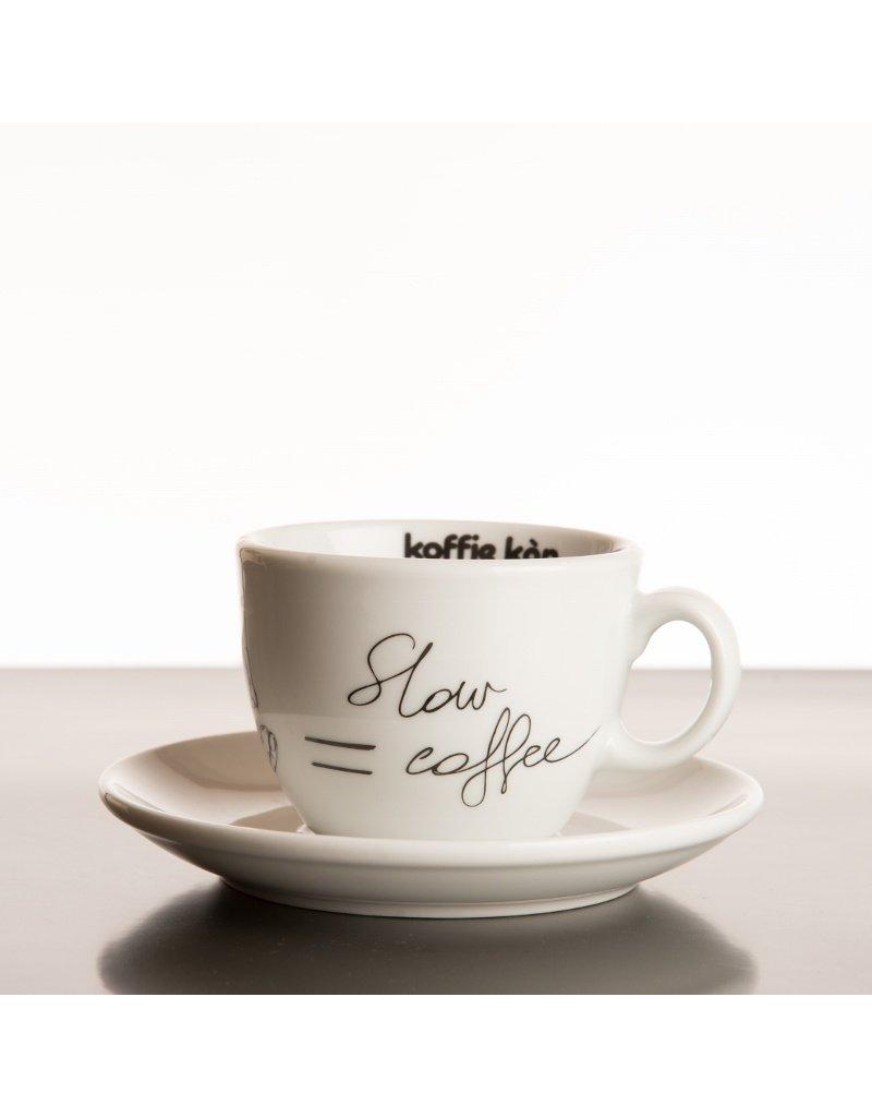 Koffie Kàn Tasse Cappuccino Slow Coffee
