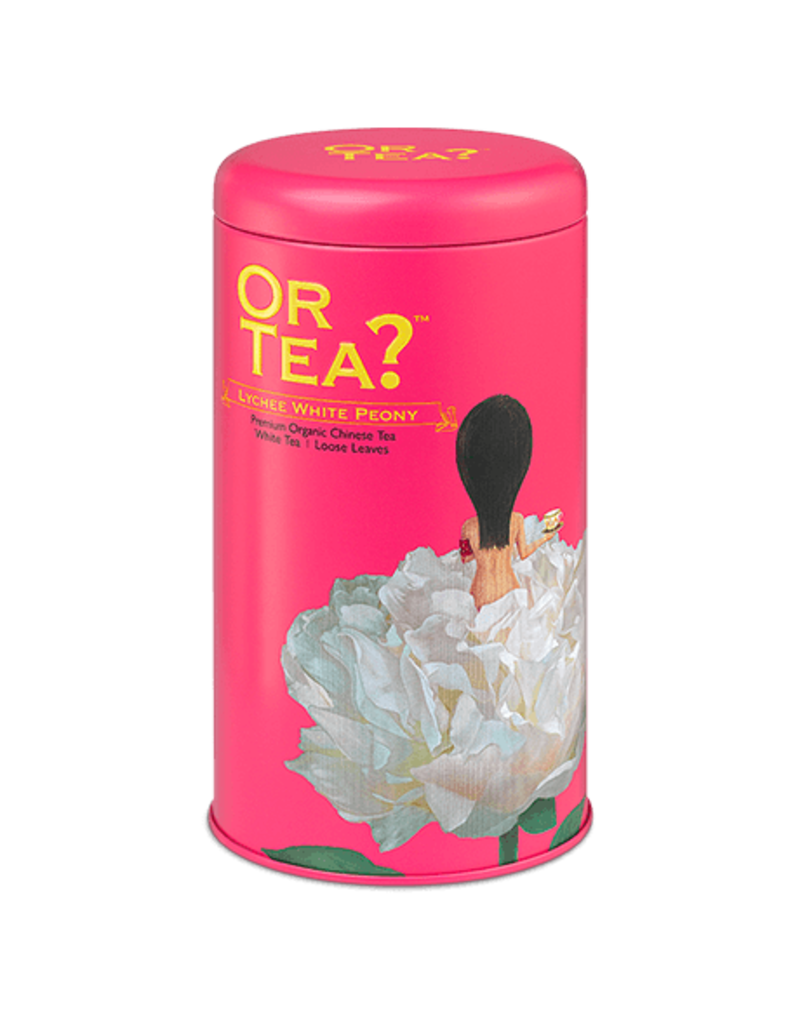 Or Tea Lychee White Peony (canister)