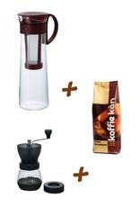 Koffie Kàn Set Cold Brew + Hario Coffee Grinder