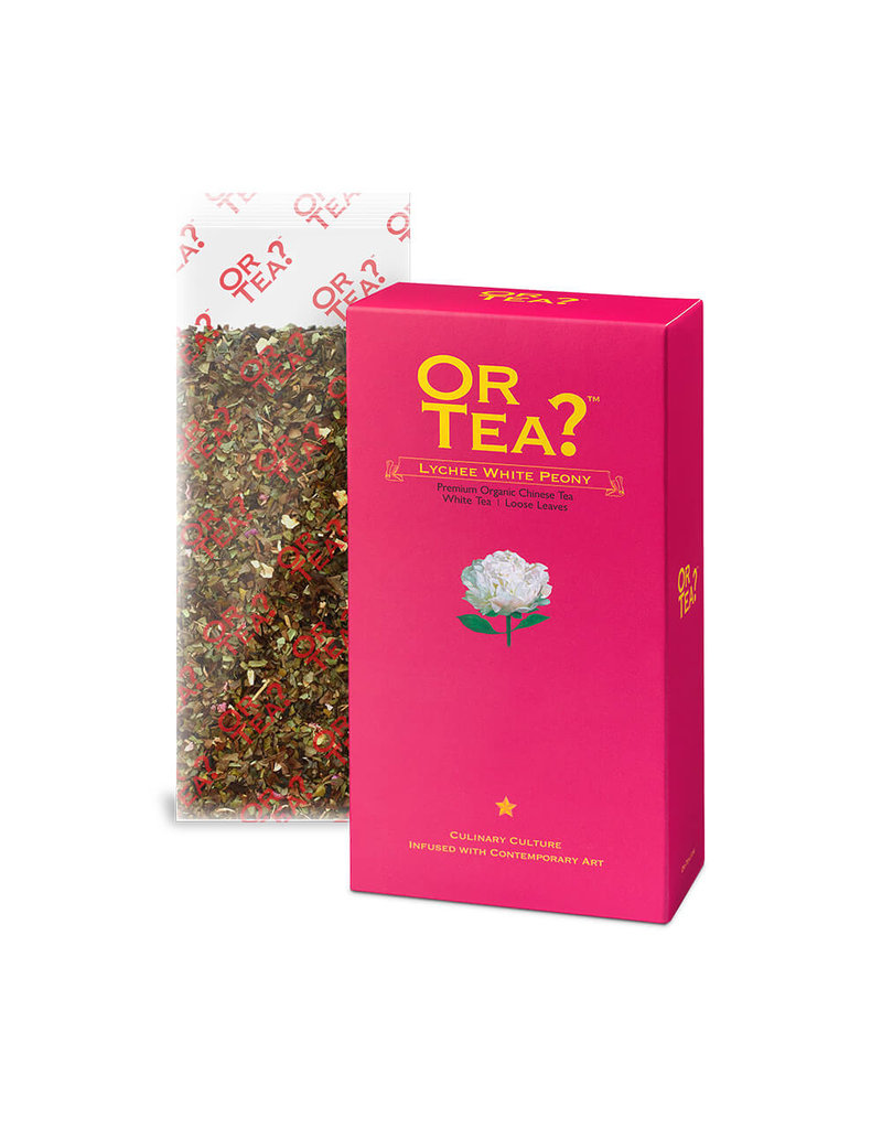 Or Tea Or Tea - Lychee White Peony (canister)