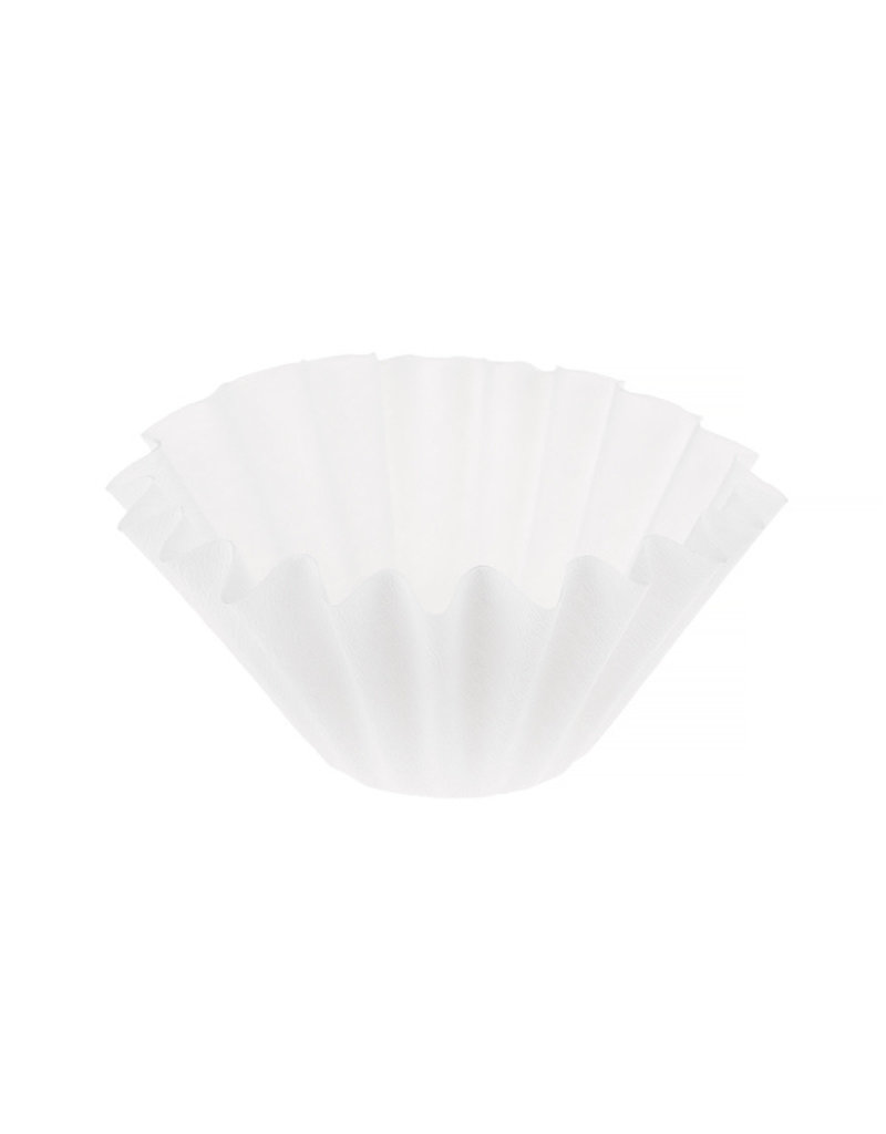 Glowbeans Wave papier filters white 100pc