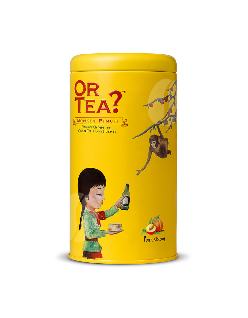 Or Tea Monkey Pinch (canister)