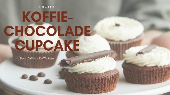 Koffie-Chocolade Cupcake