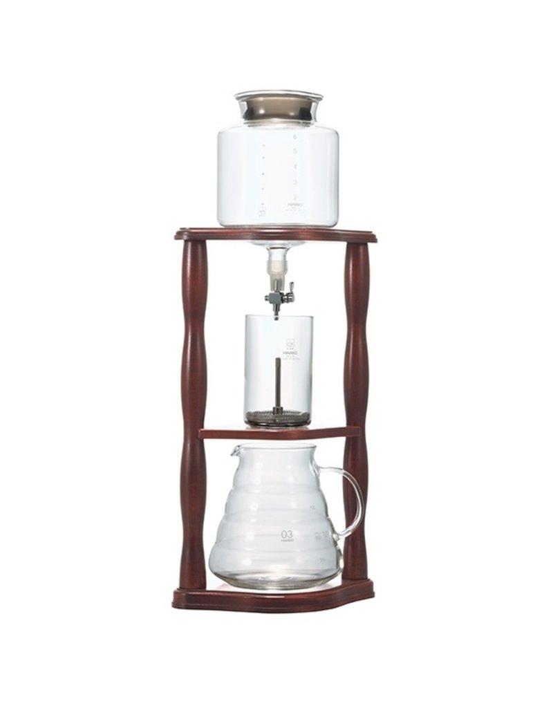 Hario HarioCold  Water Dripper Hout - 2 liter