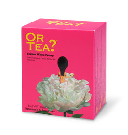 Or Tea Lychee White Peony (builtjes)