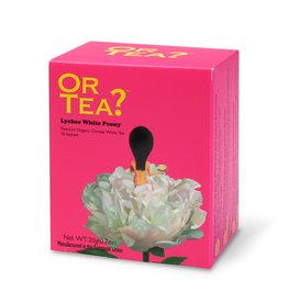 Or Tea Or Tea - Lychee White Peony (sachets)