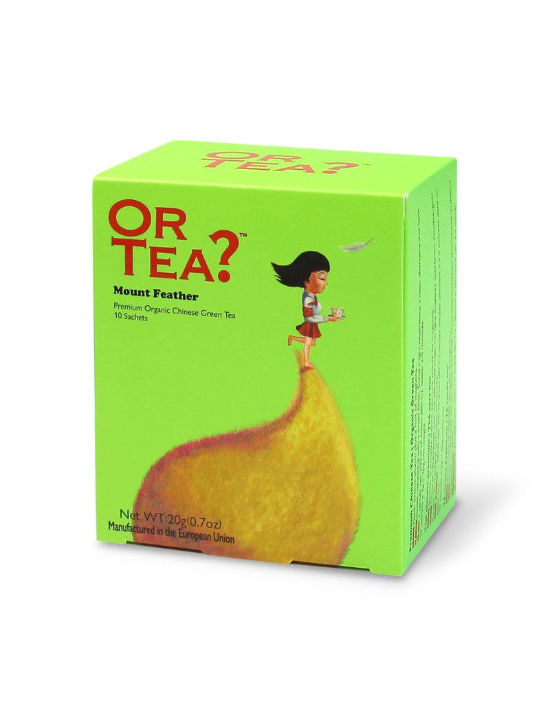 Or Tea Mount Feather (builtjes)