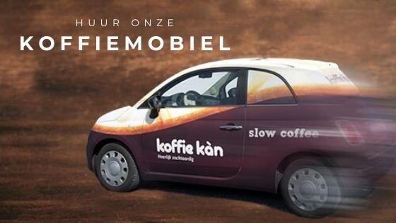 Huur onze Koffiemobiel