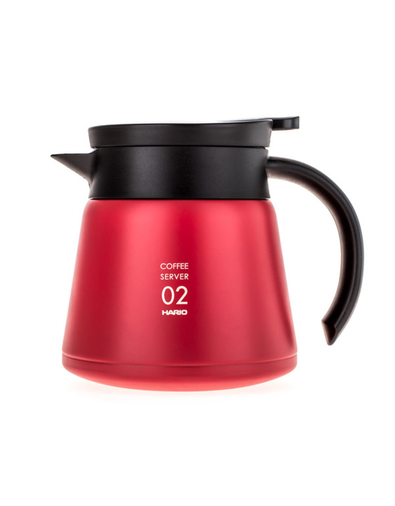 Hario Hario V60 Server 02 - Insulated Stainless Steel - 600ml
