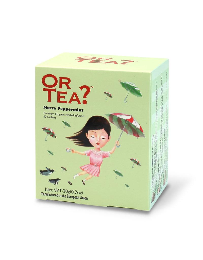 Or Tea Merry Peppermint (sachets)