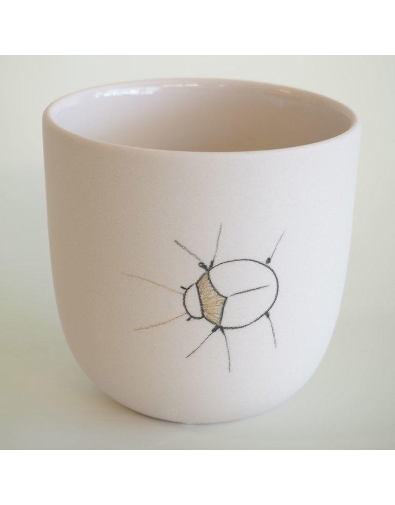 Studio Harm & Elke Gobelet Insects - Thé (XL)