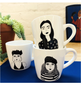 helen b. Mug with ear (different drawings)