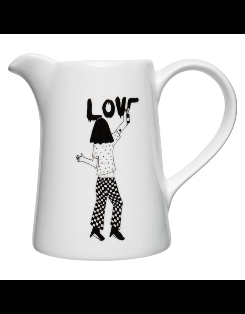 helen b. Small jug helen b.