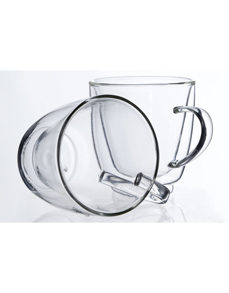 Cosy & Trendy Cosy & Trendy Double-walled Glass with handle - set of 2