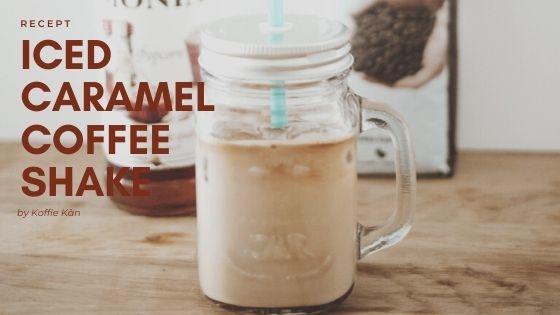 Iced Caramel coffeeshake