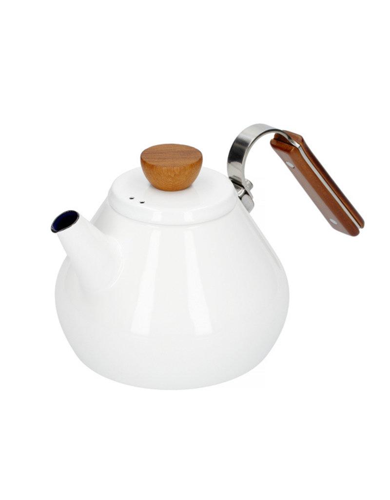 Hario Hario Bona Coffee Enamel Drip Kettle - 0,8l