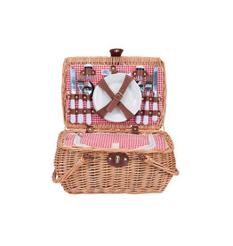 Cosy & Trendy Picnic basket 4 people