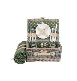 Cosy & Trendy Picnic basket 2 people
