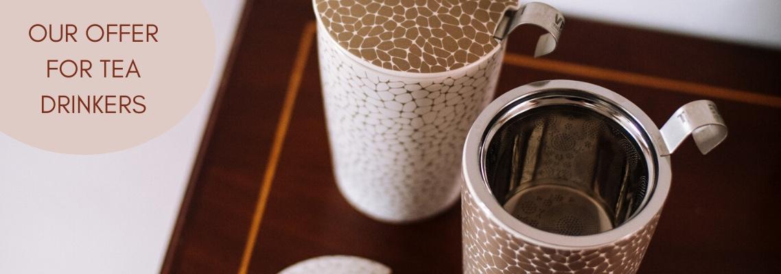Ons aanbod voor theedrinkers - ENG