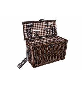 Cosy & Trendy Picnic basket 4 people