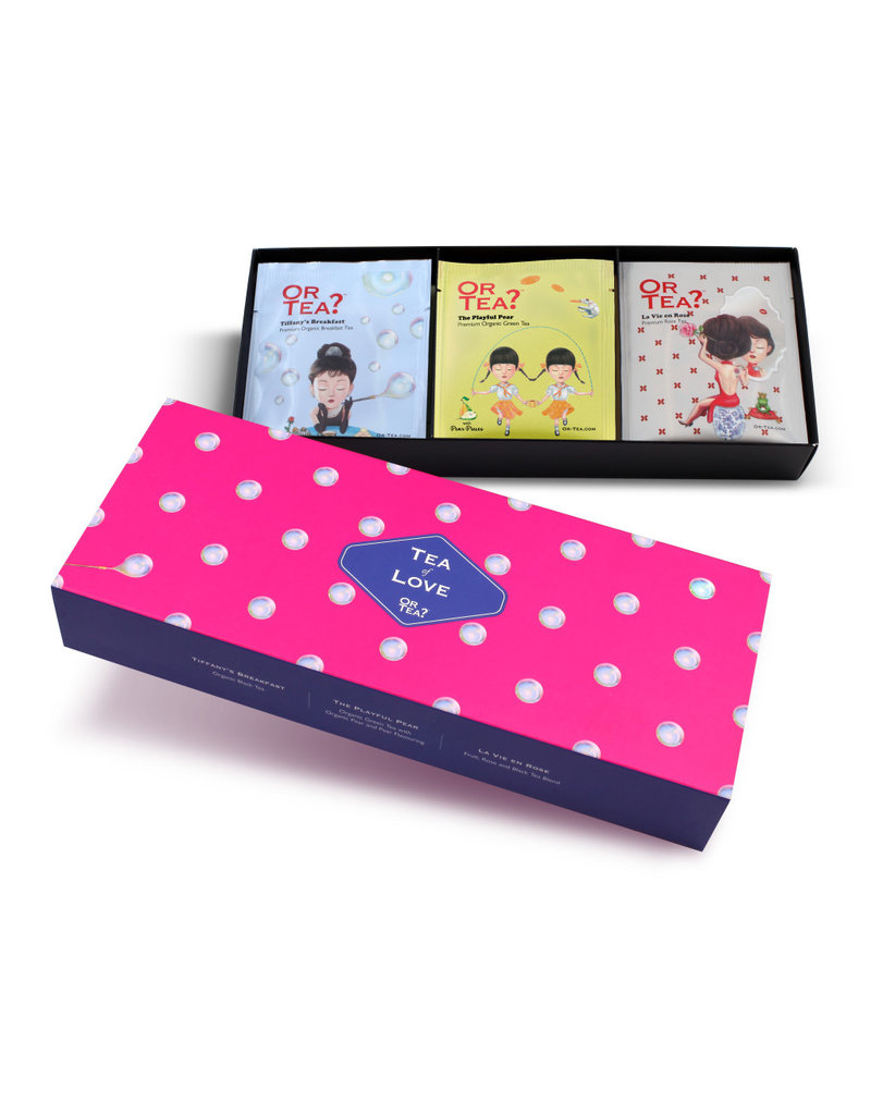 Or Tea Or Tea Gift Box Love - Assortiment