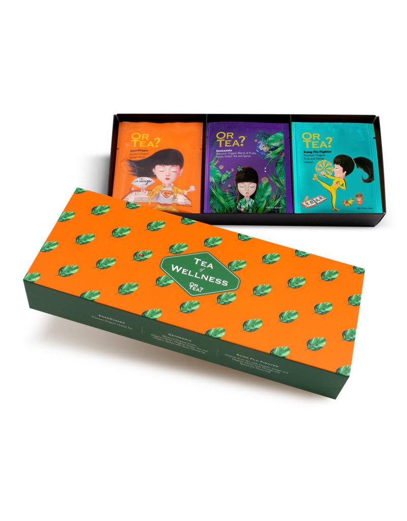 Or Tea Or Tea Gift Box Wellness - Assortiment
