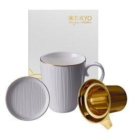Tokyo Design Tasse à thé Nippon White avec filtre