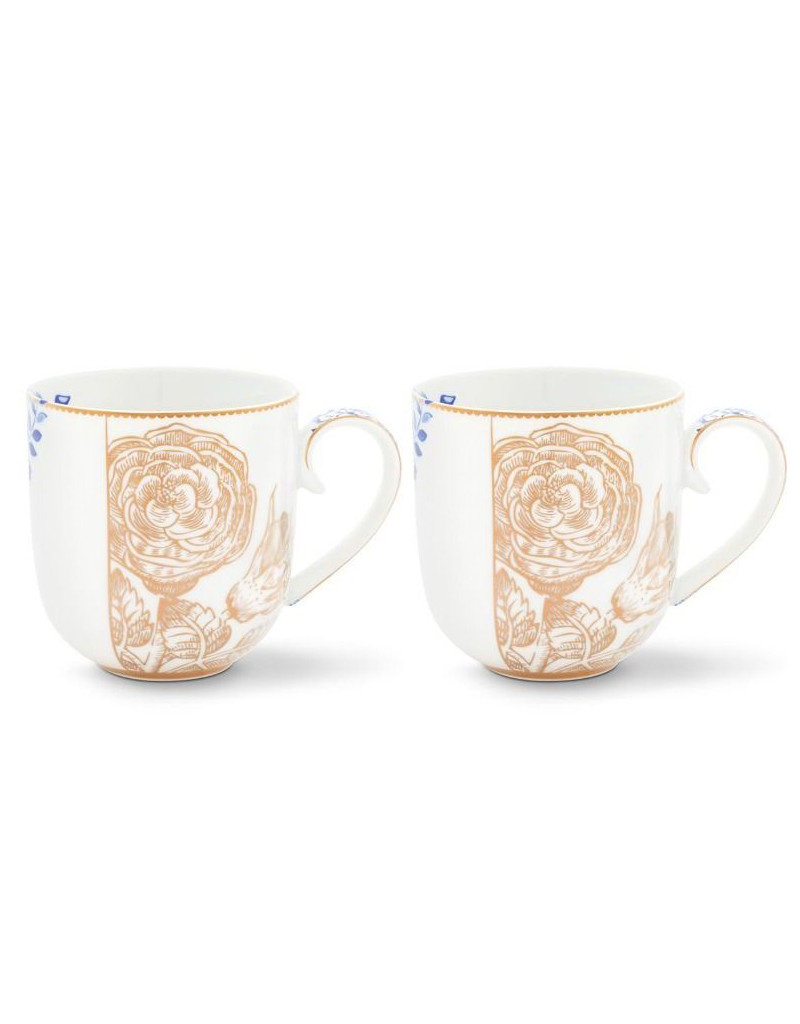 PIP Studio Tasse Café ou Thé Royal White - Set de 2