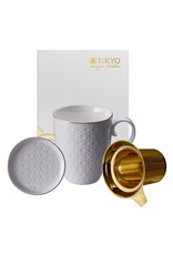 Tokyo Design Tokyo Design Tea cup Nippon White with filter