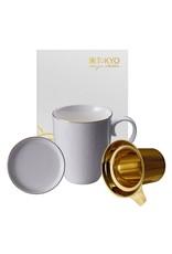 Tokyo Design Tokyo Design Tasse à thé Nippon White avec filtre