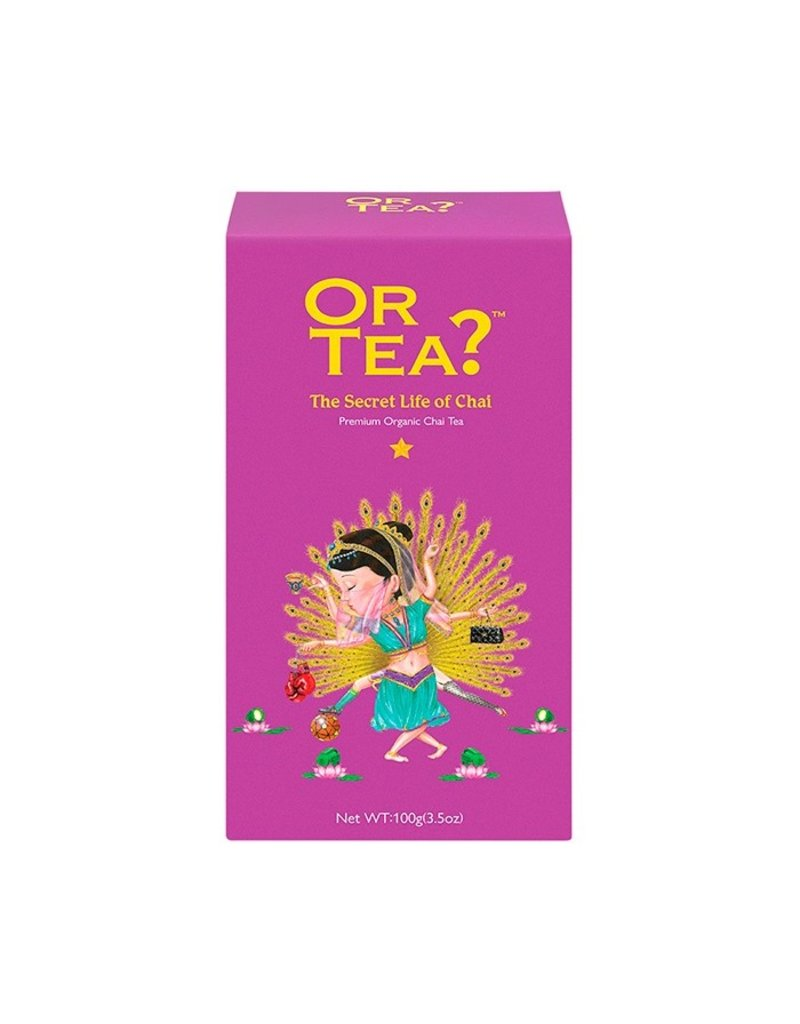 Or Tea The Secret Life of Chai (canister)