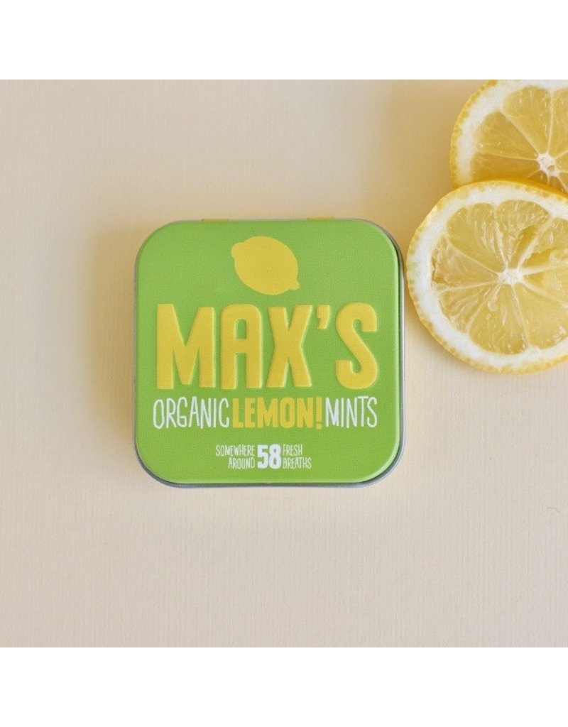 Max's Mints - organic mints in different flavours