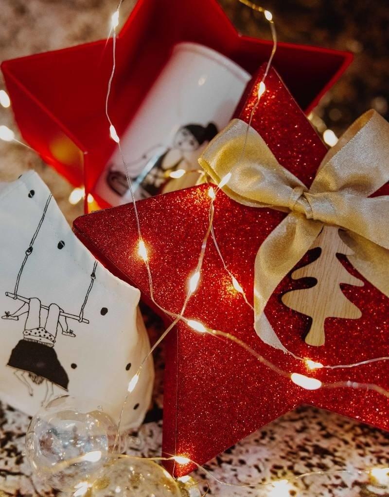 Koffie Kàn Koffie Kàn Gift Box Ster met beker en mondmasker
