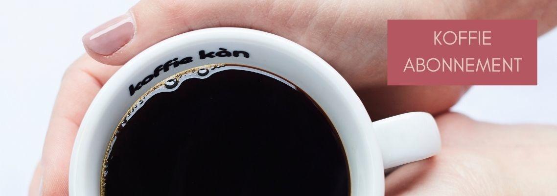 Ontdek ons koffie abonnement en bestel online