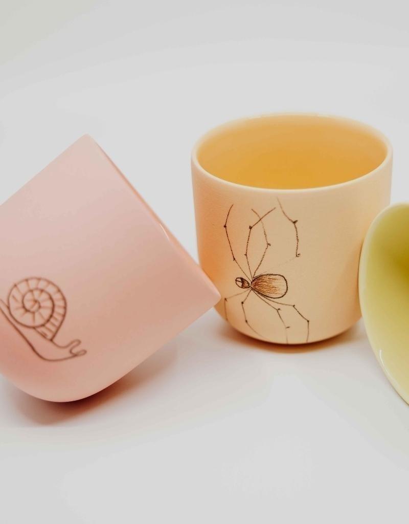 Studio Harm & Elke Mug Insects - Tea (XL)