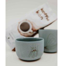 Studio Harm & Elke Gobelet Insects - café