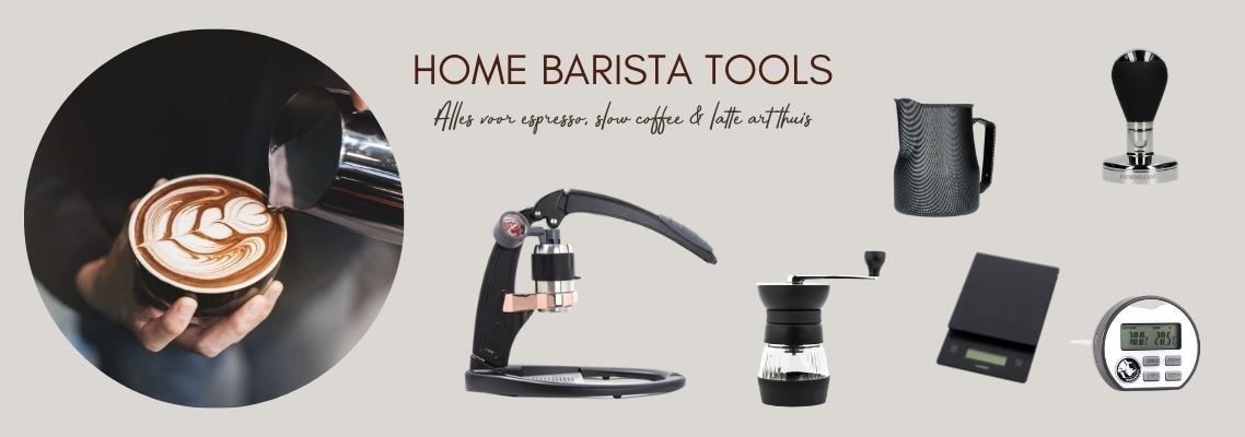 Alles voor home barista - slow coffee & latte art thuis