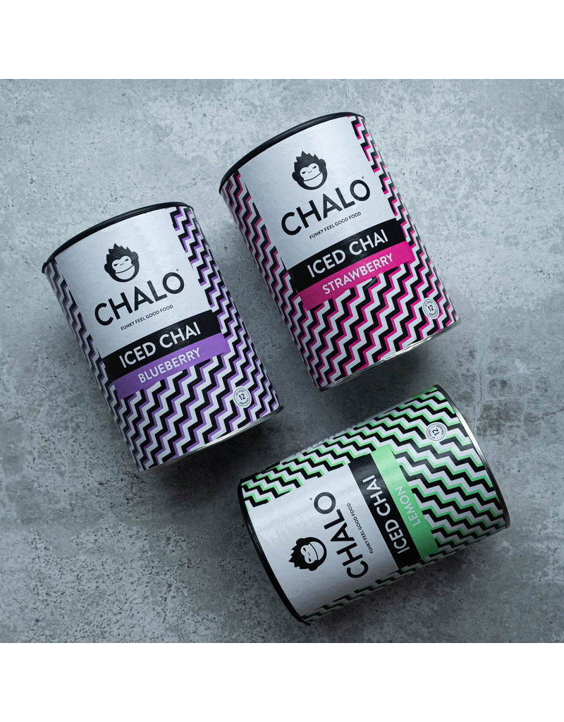 The Chalo Company Chalo Iced Chai (Strawberry - Blueberry - Lemon) - 300g