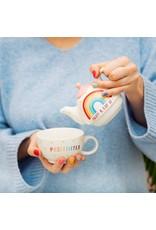 Sass&Belle Sass&Belle Rainbow Positivitea Theekan - Tea for One