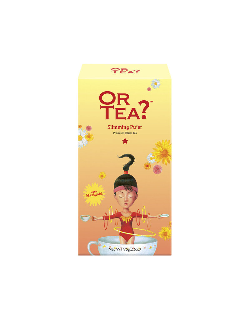 Or Tea Or Tea - Slimming Pu'er (canister)