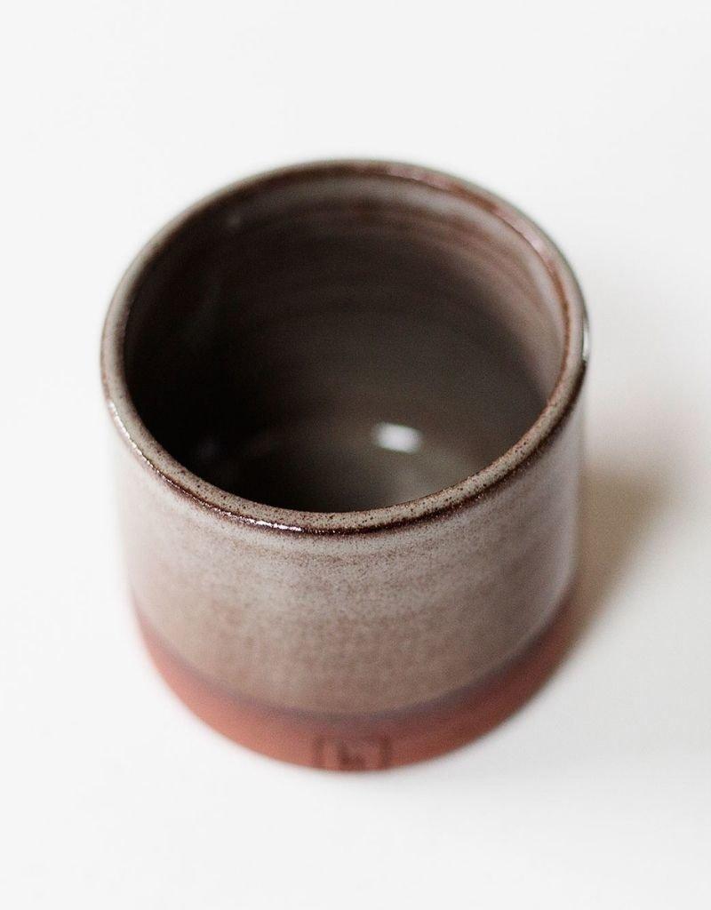 Libelia Keramiek Libelia Keramiek - Mug in red clay - grey-brown