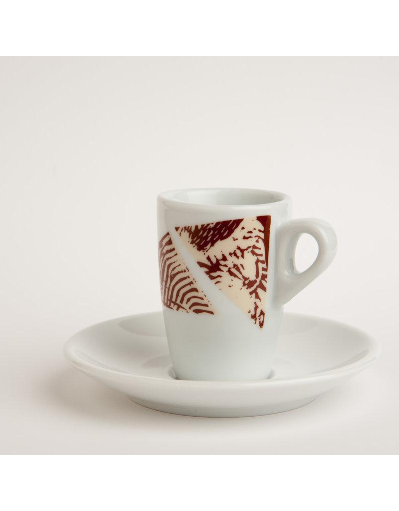 Koffie Kàn Koffie Kàn Espresso Cup 'Africa'