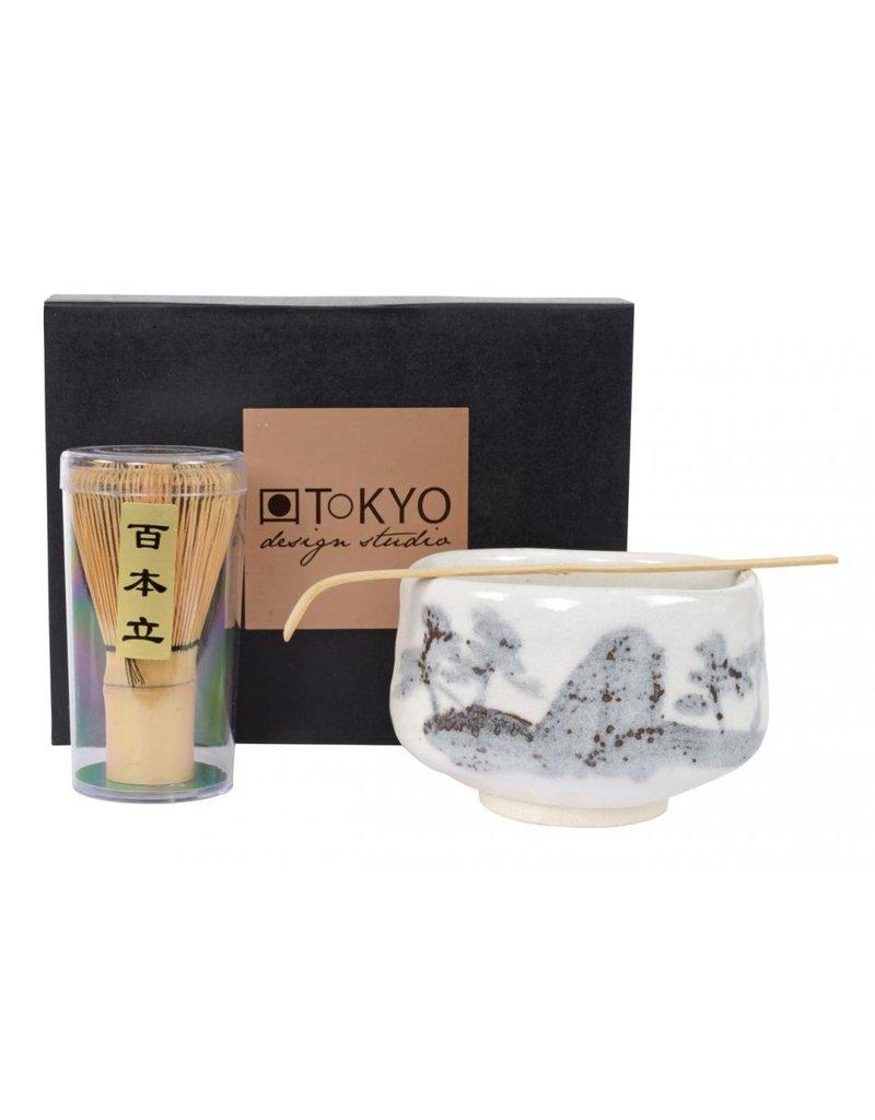 Tokyo Design Gift Box Matcha - Garde, Lepel & Kom