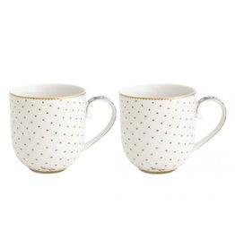 PIP Studio Coffee & Tea Cup Royal White - Set of 2