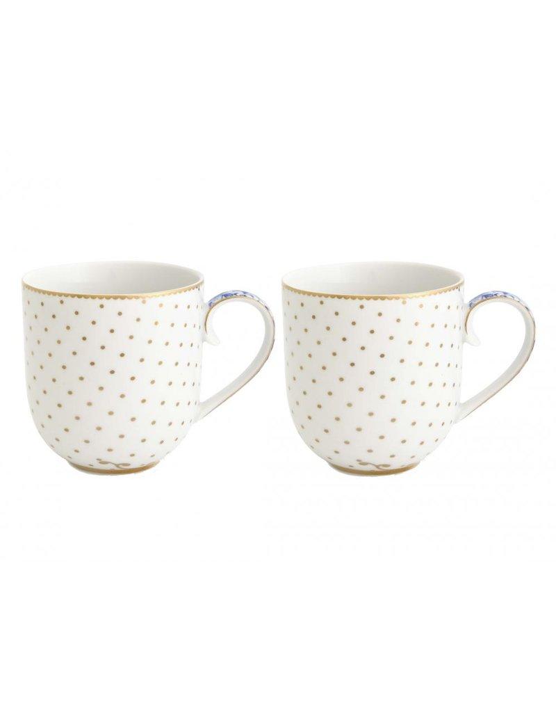 PIP Studio PIP Studio Coffee & Tea Cup Royal White 325ml  - Set of 2