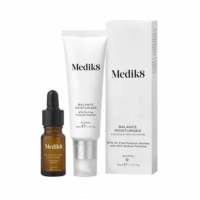 Medik8 Balance Moisturiser & Glycolic Activator